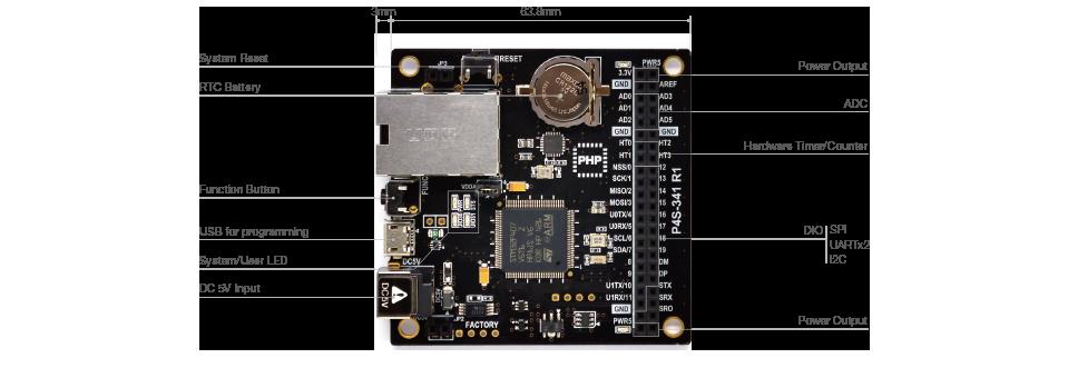 P4S-341 Hardware