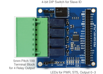 Smart Expansion Board for Relay Output (S-type)