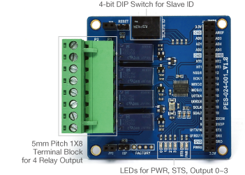 Smart Expansion Board for Relay Output (T-type)