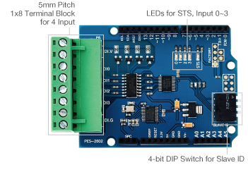 4-Port Digital Input Board