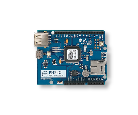 PHPoC WiFi Shield